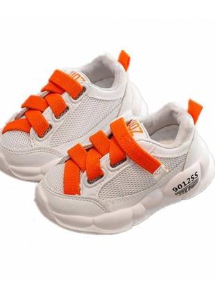 Кроссовки детские yaoz оранж3 фото