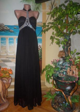 Роскошное платье в пол!