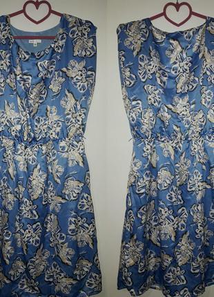 Летнеее платье от oodji большого размера