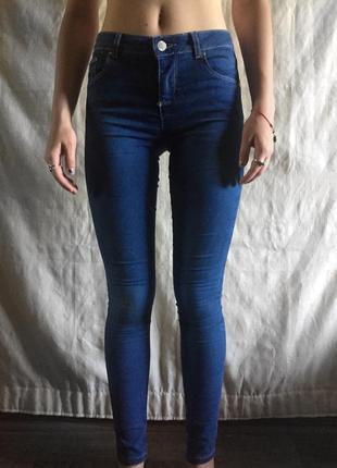 Скинни джинсы denim