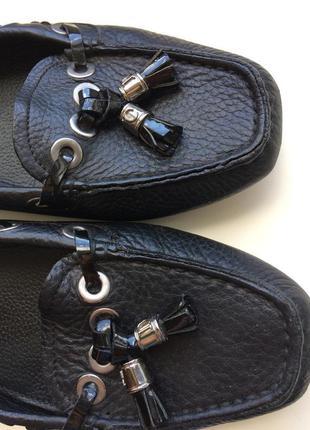 Кожаные туфли dior оригинал 38р. серийный номер