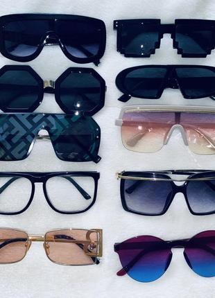 Солнцезащитные очки унисекс женские мужские
