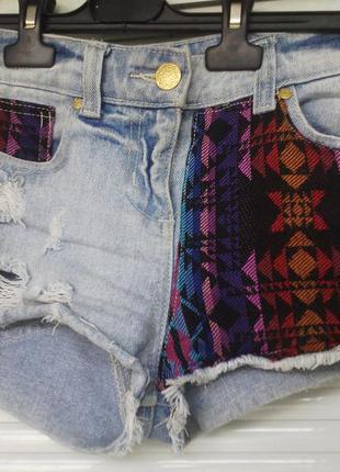 Качественные джинсовые шорты zara