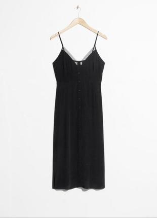 Черное платье бренда & other stories