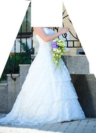 Продам классное свадебное платье