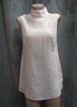 Лелковая блуза,блузаиз шелка