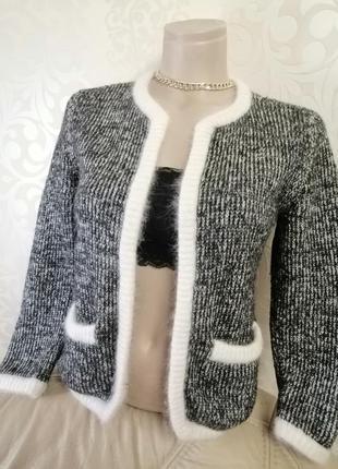 Шикарная теплющая кофта кардиган пиджак