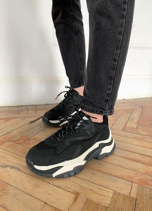 Женские кроссовки ash black (жіночі кросівки)