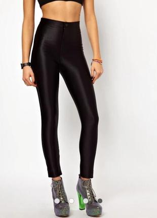 Шикарные качественные утягивающие брюки высокая талия