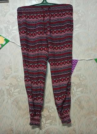 Классные летние штанишки шаровары divided h&m