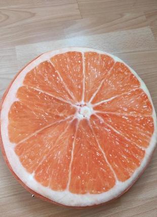 Подушка сидушка апельсин