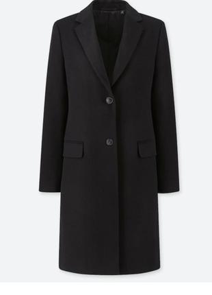Пальто шерстяное шерсть кашемир размер xs s