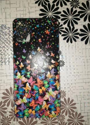 Новый силиконовый чехол на телефон самсунг а51