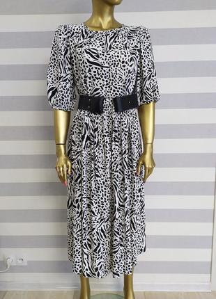 Шикарное вискозное платье h&m новых коллекций