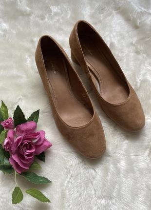 Стильные базовые туфли лодочки