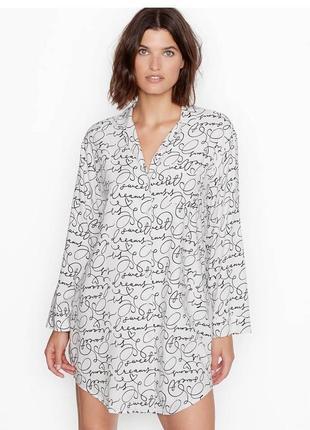 Рубашка для сна, пижама victoria's secret