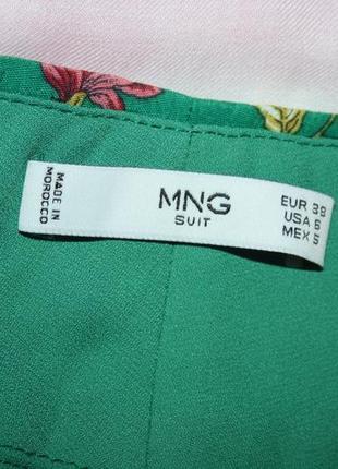Легкие брюки клёш mango mango5 фото