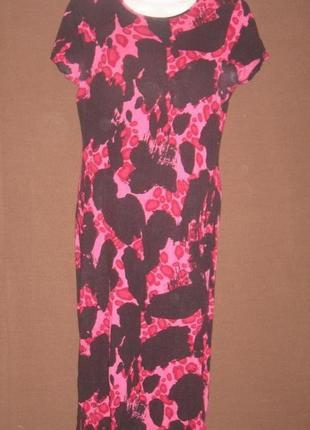 Платье красное с чёрным. на спинке оригинальный вырез. см фото пог – 40 см