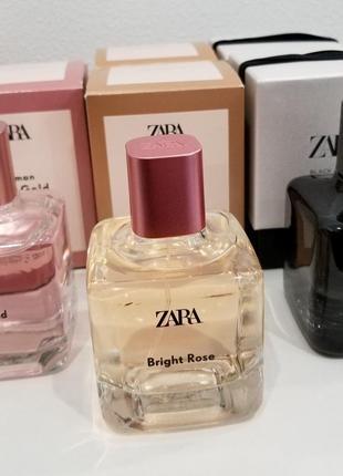 Парфюмерная вода zara bright rose, 100 мл