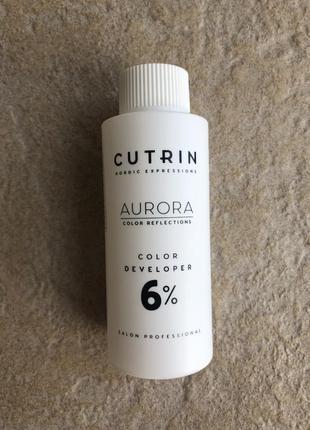 Окислитель 6% cutrin aurora color developer 60 мл