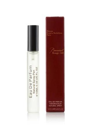 Baccarat rouge 540 тестер- миниатюра 10мл, духи, парфюм, парфуми, туалетная вода
