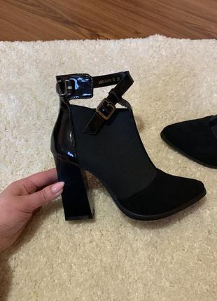Ботильоны туфли stella marco новые