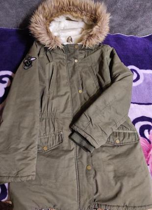 Деми куртка,парка 12 лет