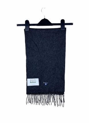 Barbour 100% wool / 100% шерстяной шарф