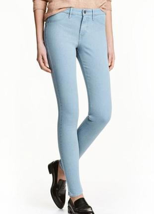 Стильные женские джинсы h&m, размер xs-s.
