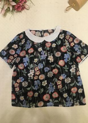 Блуза  свободный силуэт