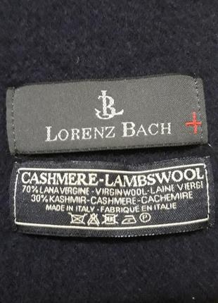 Шикарный итальянский из кашемира lorenz bach original.