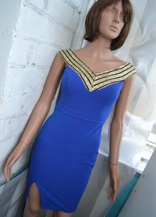 Шикарное нарядное платье на праздник в греческом стиле с пайетками