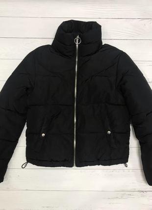 Пуффер дутик руртка с горлом зима