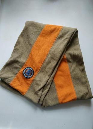 Двойной флисовый шарф