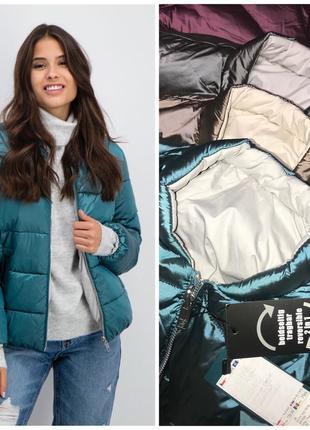 New yorker {amisu} двусторонняя куртка -50% новая коллекция-весна 2021
