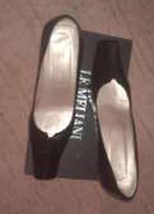 Мягенькие кожаные итальянские туфли le melani