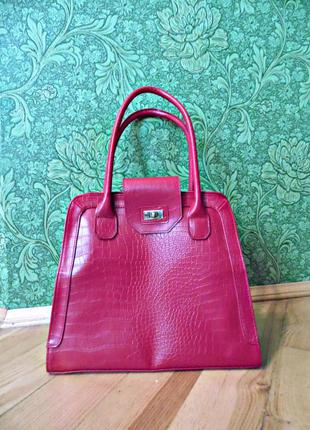 Сумка экспрессия ladylike red bag