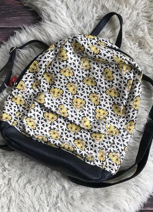 Рюкзак с симбой disney сумка