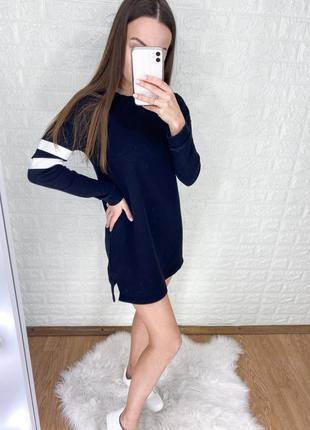 Спортивная туника-платья утепленная на флисе от h&m⚽️🤍