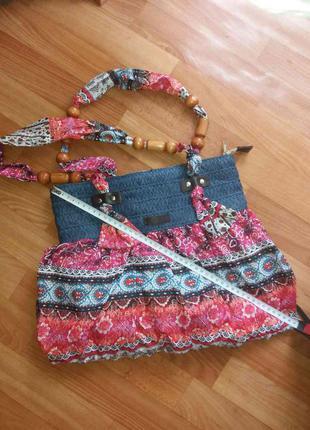 Яркая стильная летняя сумка