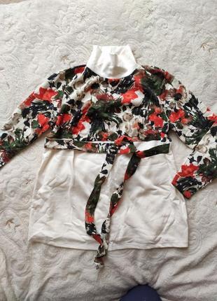 Удлиненный свитер для беременных