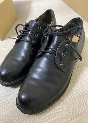 Туфли оксфорд женские