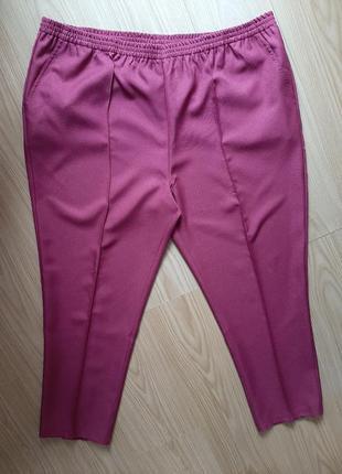 Женские штаны баталы высокая посадка  -женские брюки баталы высокая посадка