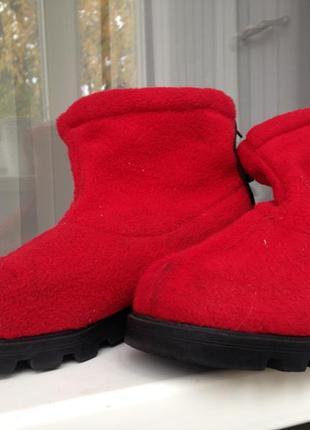 Флисовые ботинки