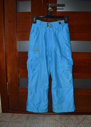 Лыжные-сноубордические штаны spex. рост 122-128.