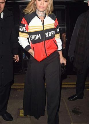 Бомбер толстовка женская superstar firebird adidas originals x rita ora