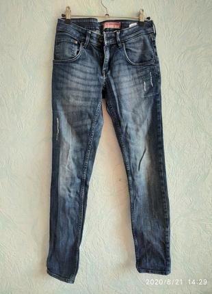 Прямые джинсы 100 каттон2 фото