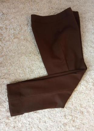 Плотные теплые  брюки, трикотаж, шерсть, стрелки, шикарное качество