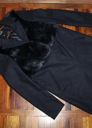 Шикарное фирменное пальто topshop