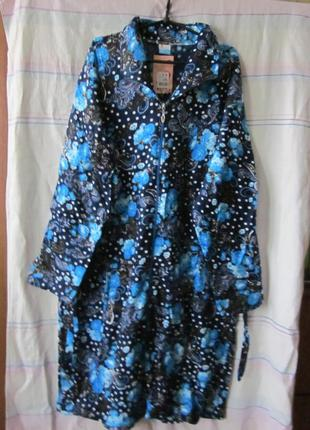 Халаты женские байковые 56-64 размеры